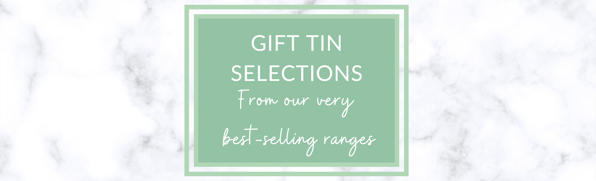 Gift tea tin selections