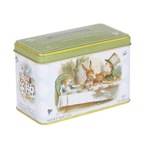 Alice In Wonderland English Afternoon Tea Tin 40 Teabags Black Tea New English Teas