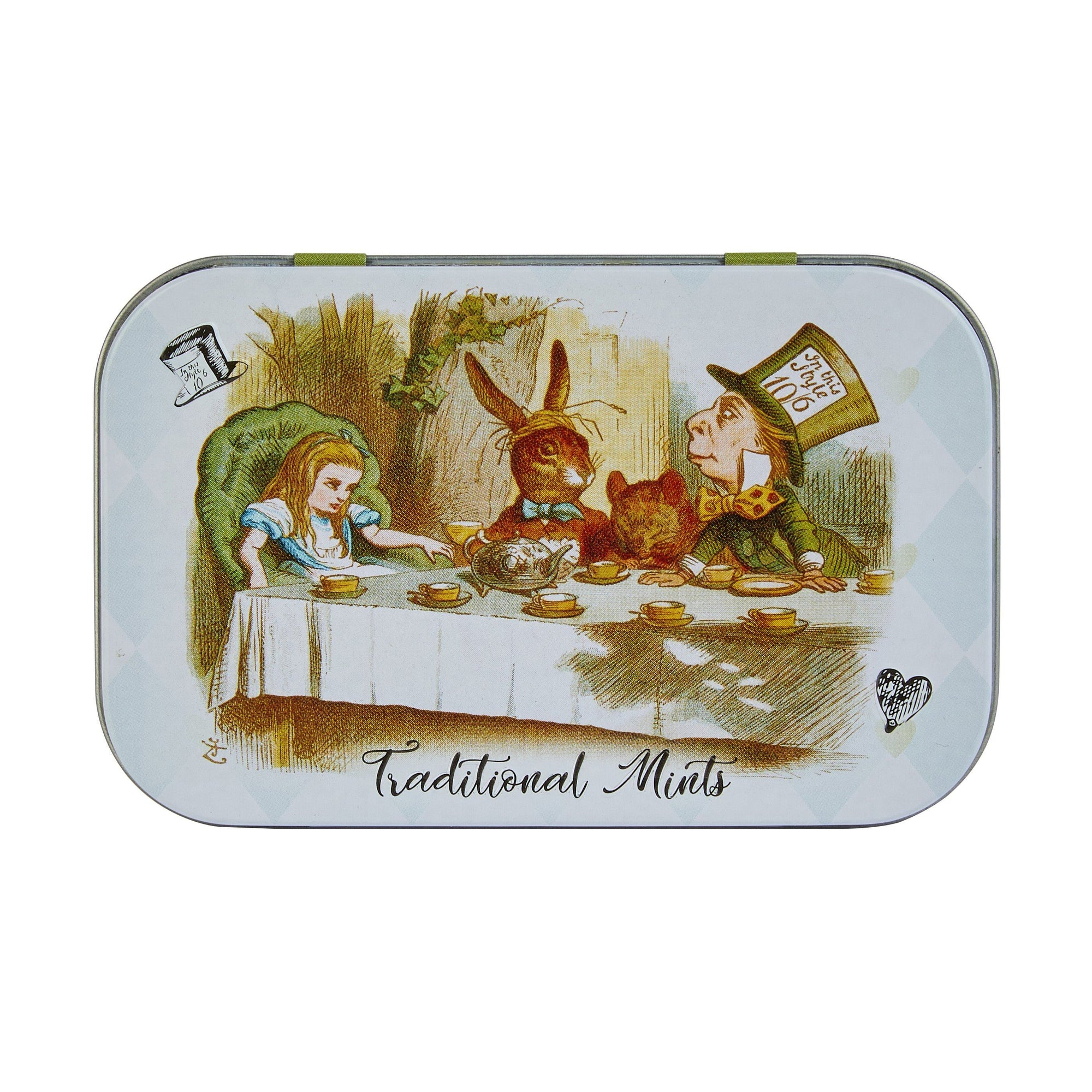 Alice in Wonderland Sugar-Free Pocket Mints Tin 35g Mints New English Teas