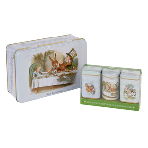 Alice in Wonderland Tea Tin Selection Gift Black Tea New English Teas