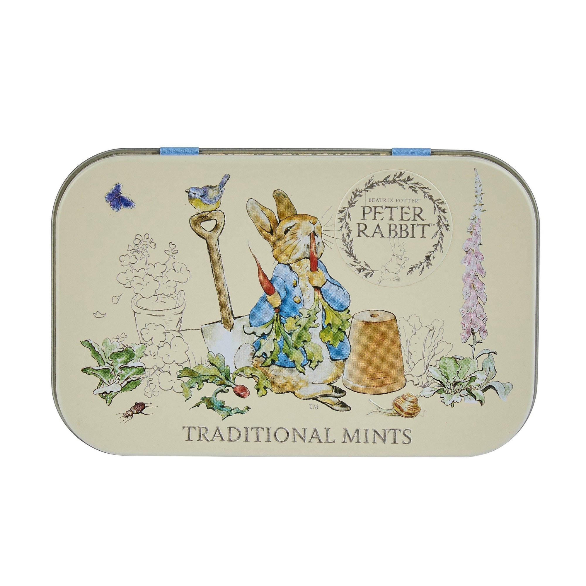 Beatrix Potter Sugar Free Pocket Mints Tin 35g Mints New English Teas
