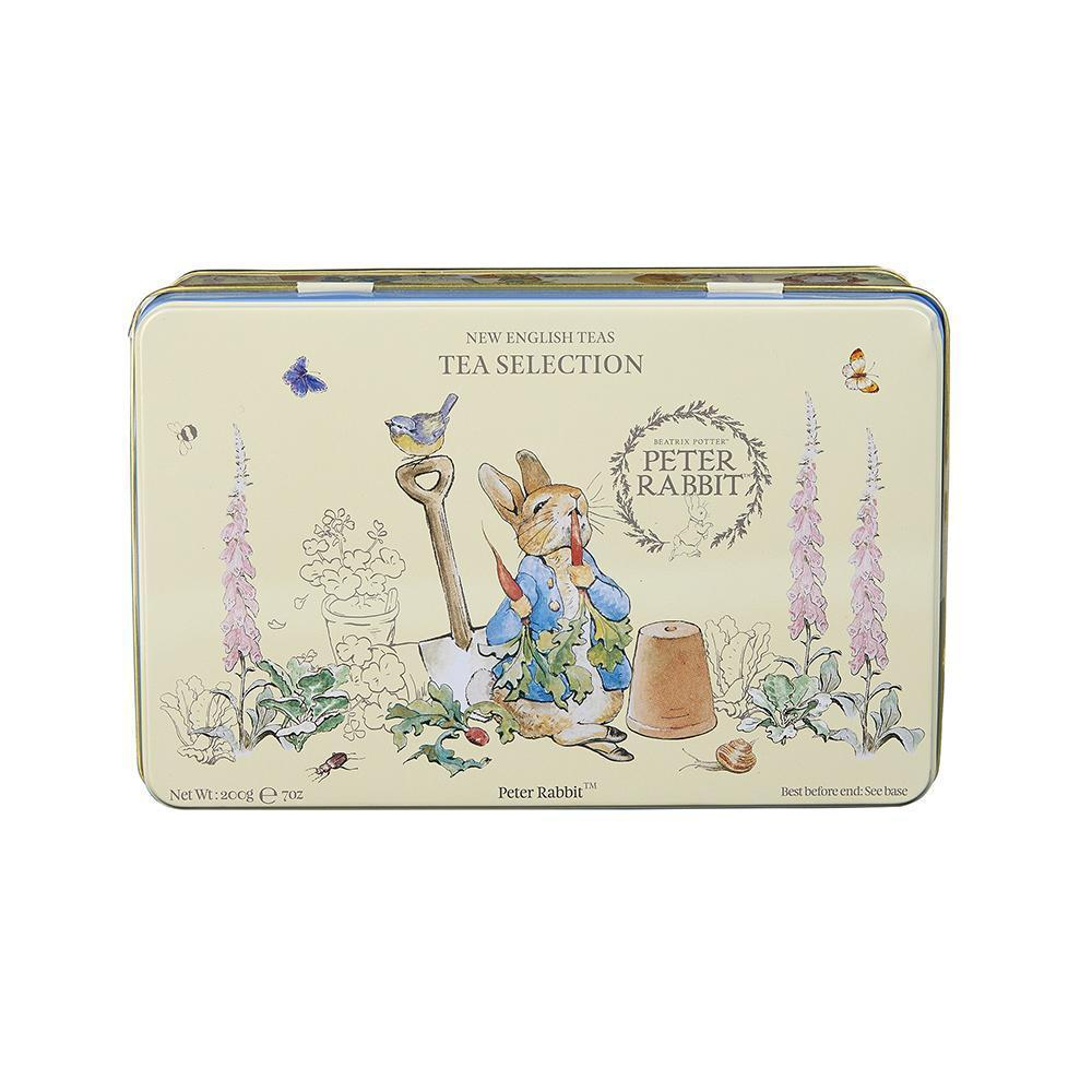 Beatrix Potter Tin with 100 assorted teabags Black Tea New English Teas