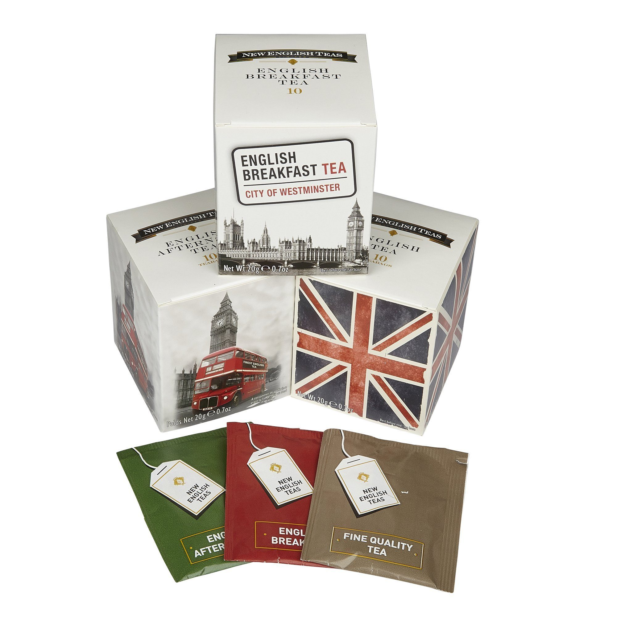 Best Of British Triple Tea Gift Pack Black Tea New English Teas