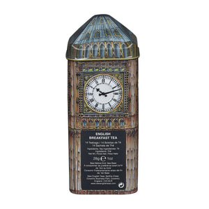 Big Ben English Breakfast Tea Tin 14 Teabags Black Tea New English Teas