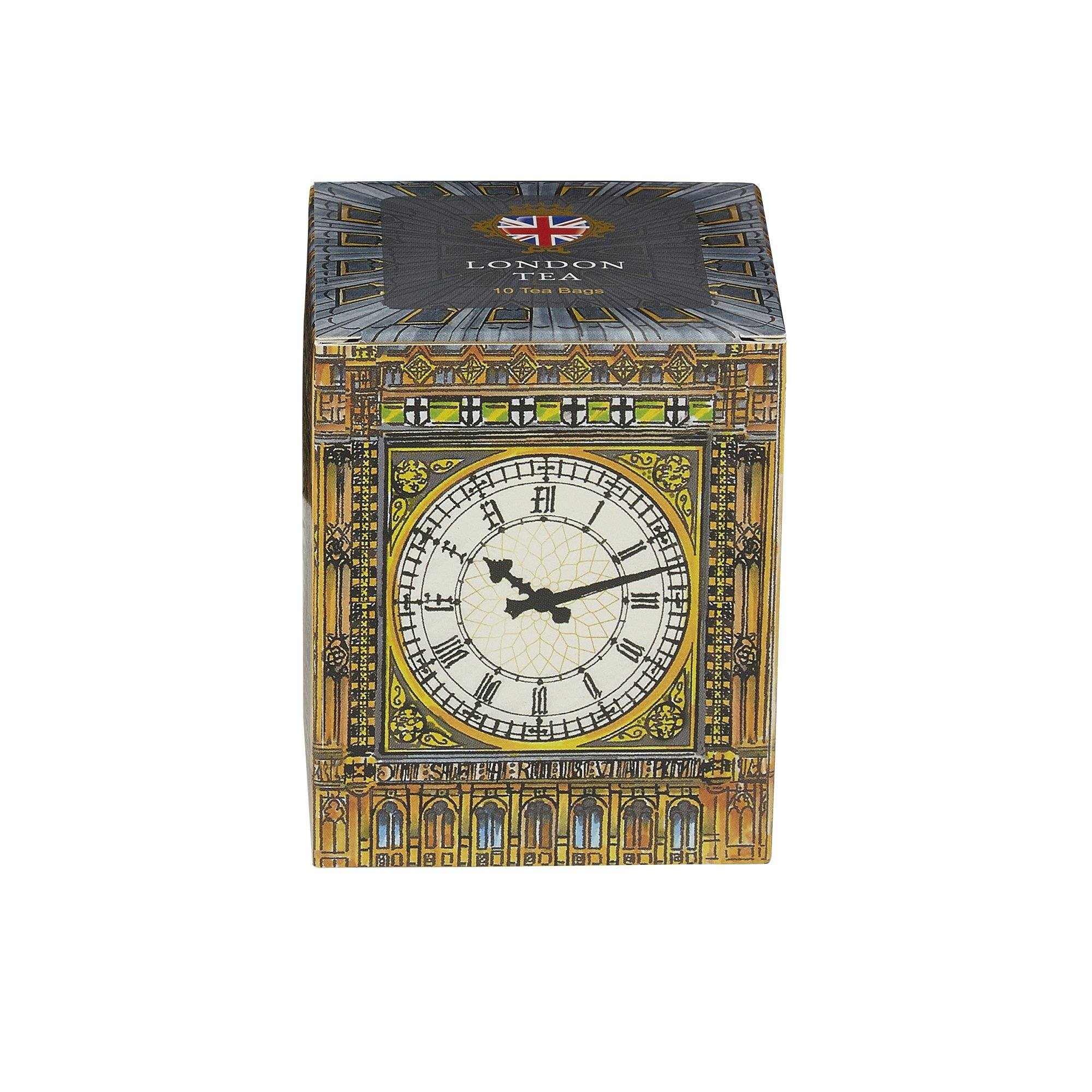 Big Ben London Tea 10 Teabag Carton Black Tea New English Teas