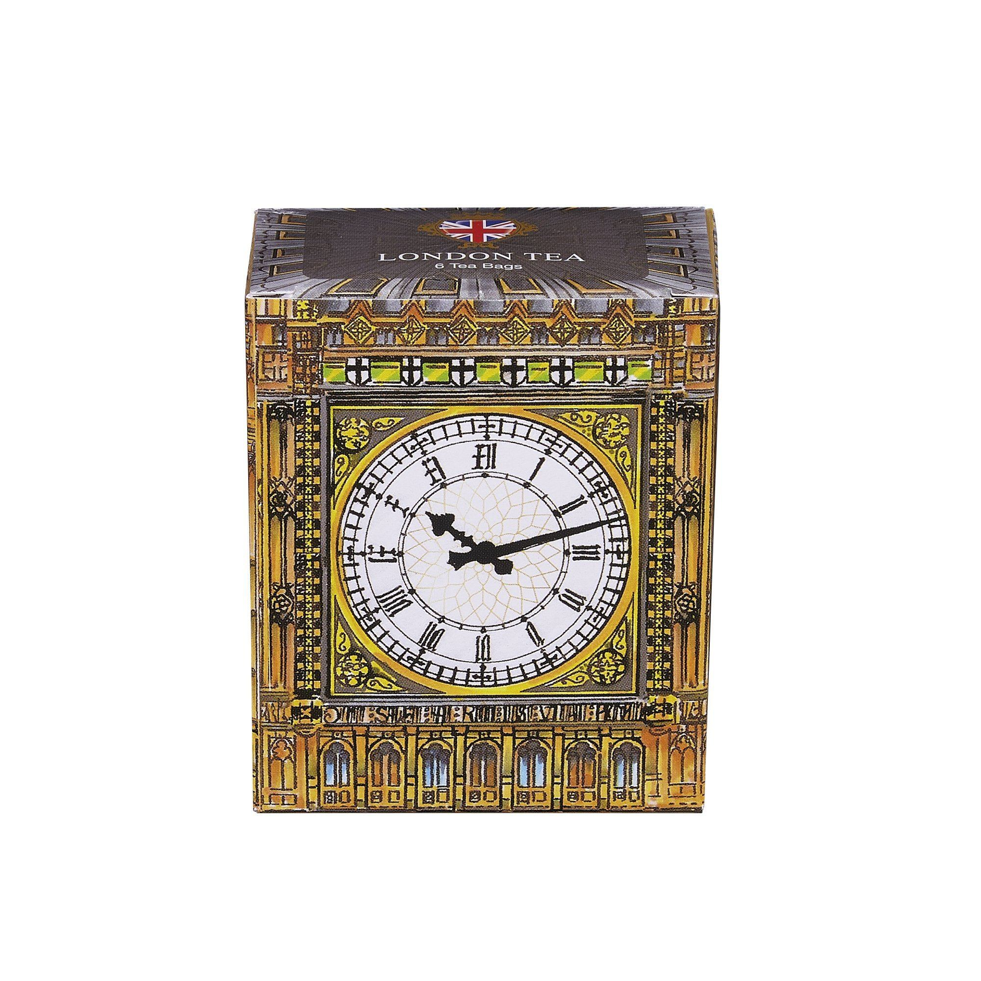Big Ben London Tea 6 Teabag Carton Black Tea New English Teas