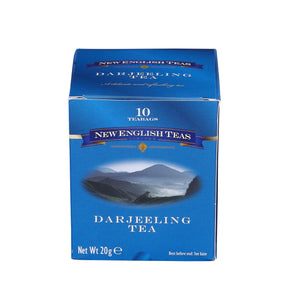 Classic Darjeeling Tea 10 Individually Wrapped Teabags Black Tea New English Teas