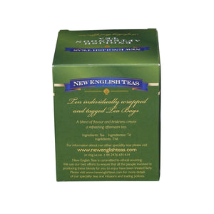 Classic English Afternoon Tea 10 Individually Wrapped Teabags Black Tea New English Teas