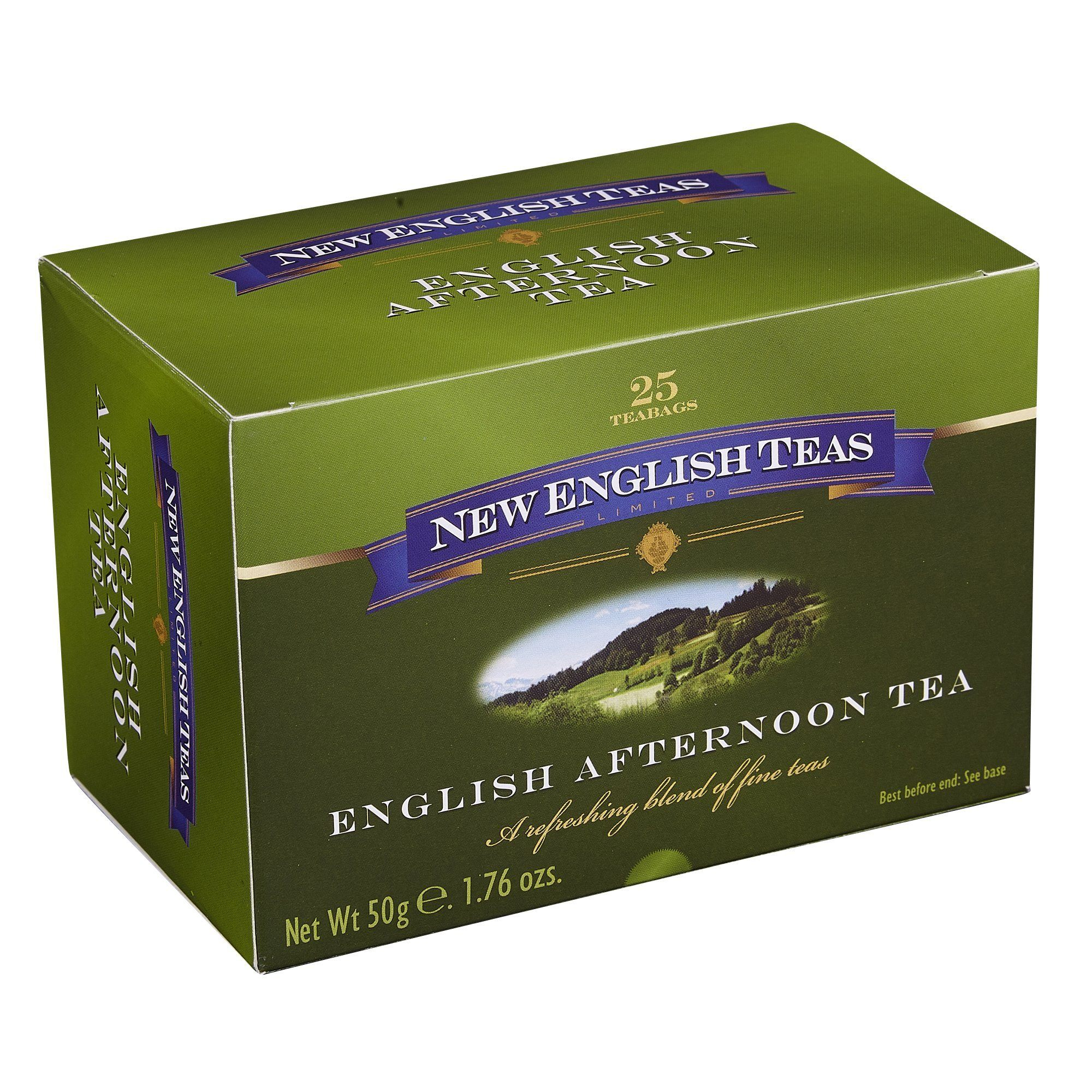 Classic English Afternoon Tea, 25 individually wrapped teabags Black Tea New English Teas