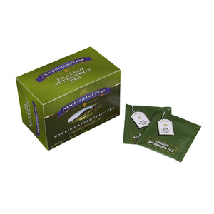 Classic English Afternoon Tea 25 Individually Wrapped Teabags Black Tea New English Teas