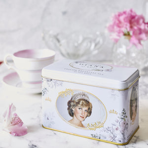 Diana Princess Of Wales English Breakfast Tea Tin 40 Teabags Black Tea New English Teas