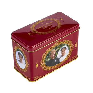 Duke and Duchess of Sussex English Breakfast Tea Tin 40 Teabags Black Tea New English Teas