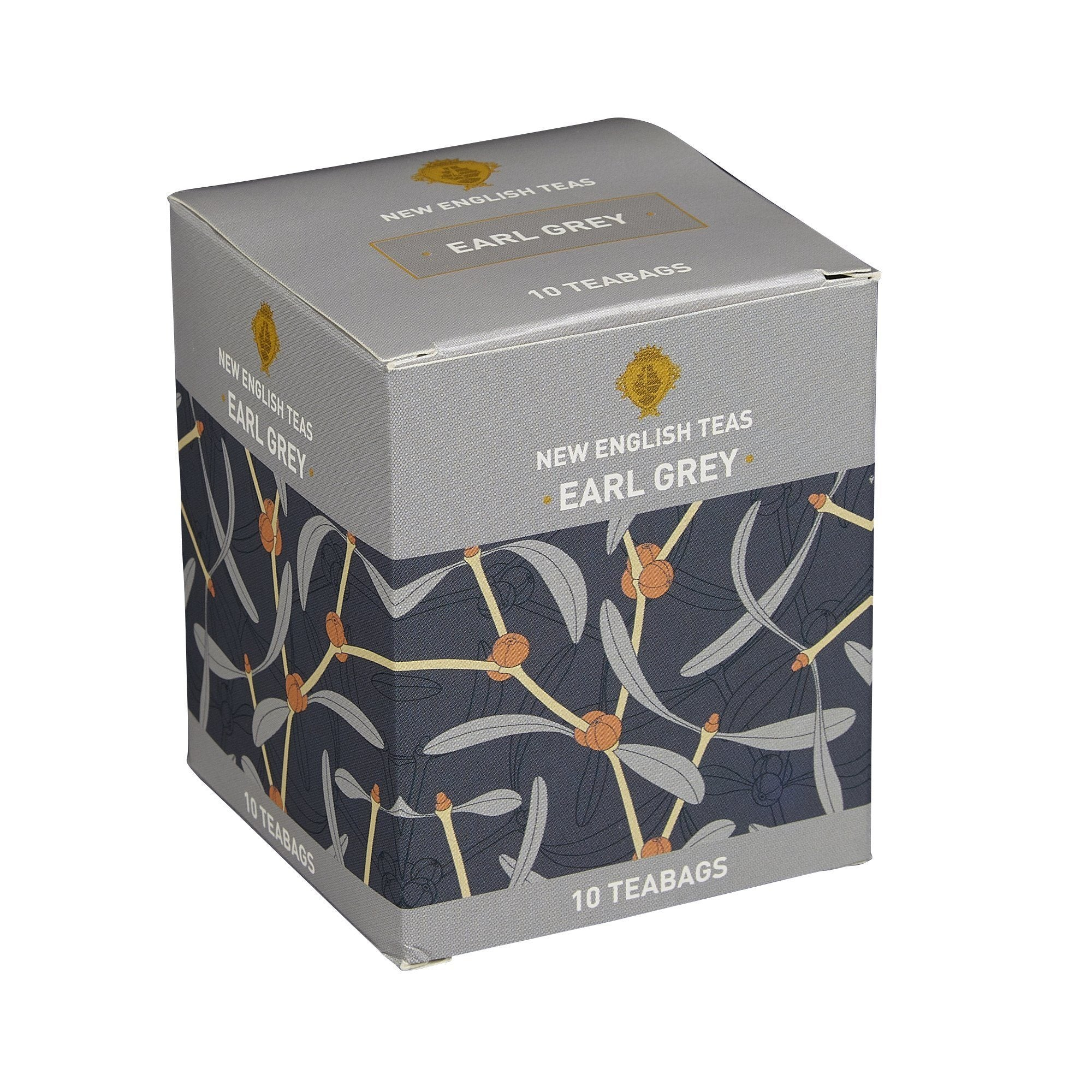 Earl Grey Tea 10 Individually Wrapped Teabags Black Tea New English Teas
