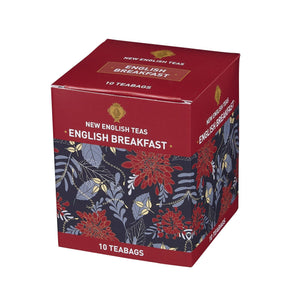 English Breakfast Tea 10 Individually Wrapped Teabags Black Tea New English Teas