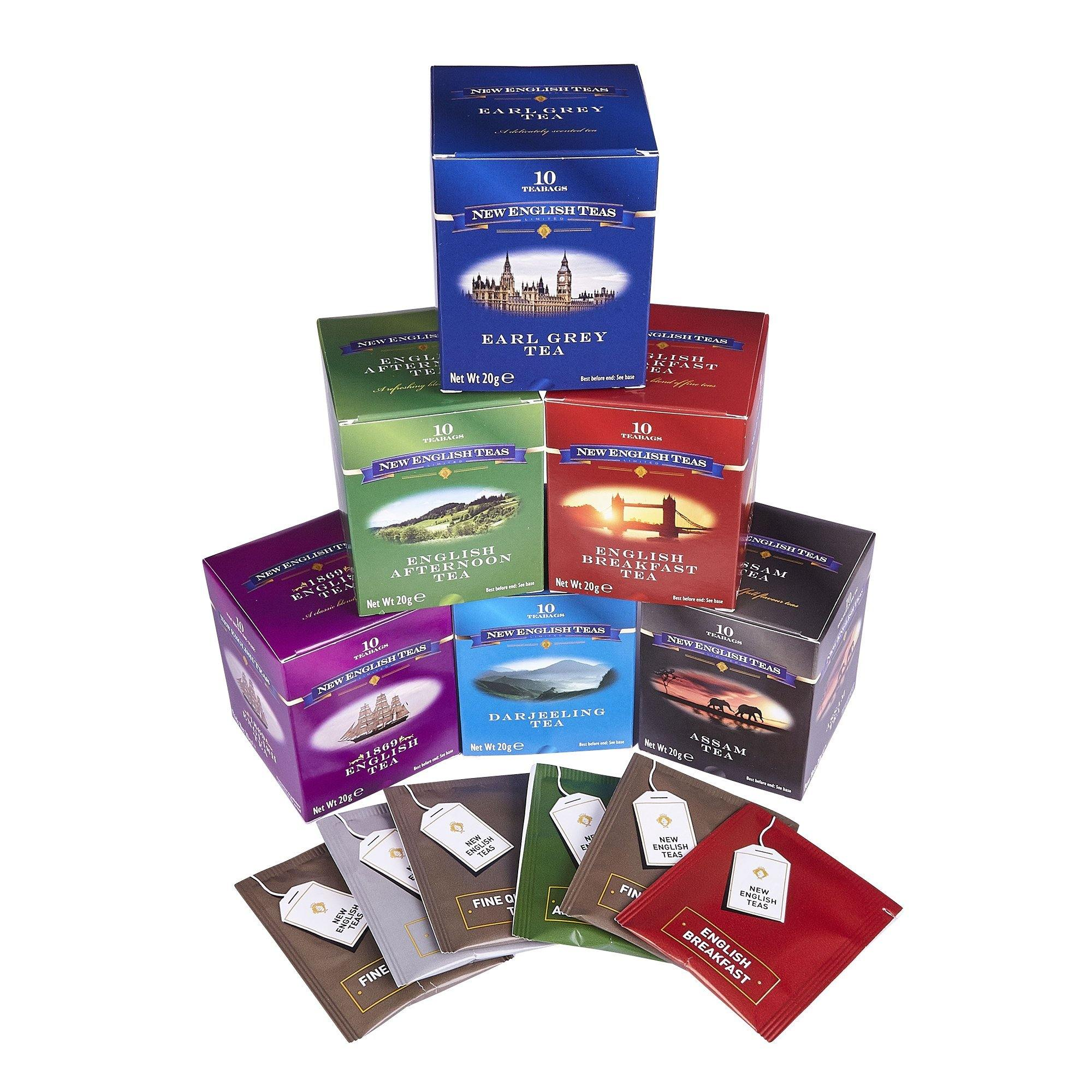 English Classics Six Tea Gift Pack Black Tea New English Teas