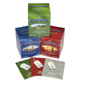 English Classics Triple Tea Gift Pack Black Tea New English Teas