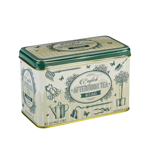 English Garden Afternoon Tea Tin 40 Teabags Black Tea New English Teas