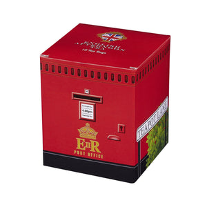 English Post Box Afternoon Tea 10 Teabag Carton Black Tea New English Teas
