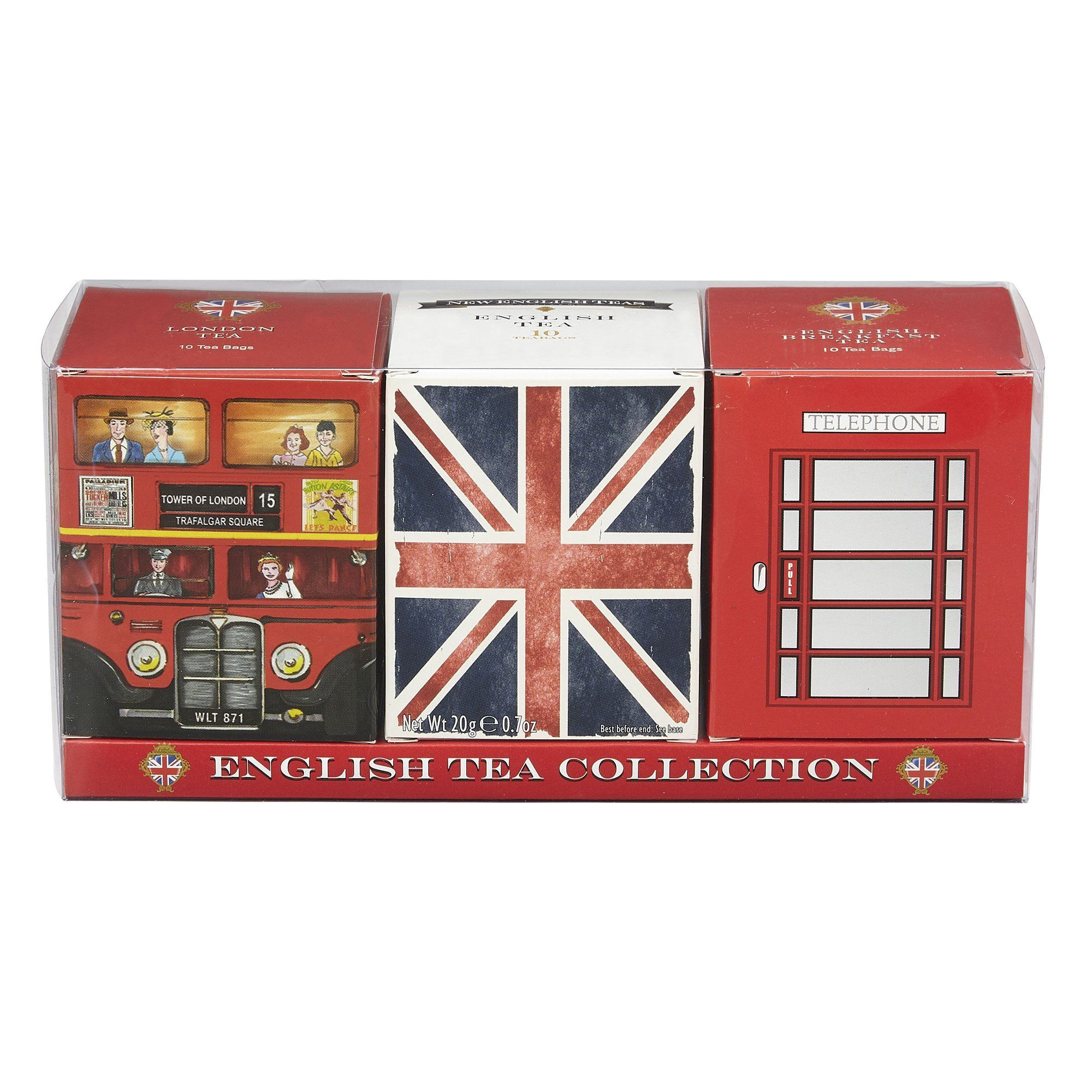 English Tea Collection Triple Carton Gift Pack Black Tea New English Teas