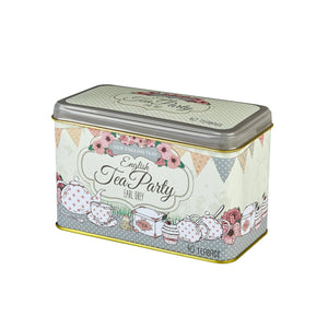 English Tea Party Earl Grey Tea Tin 40 Teabags Black Tea New English Teas