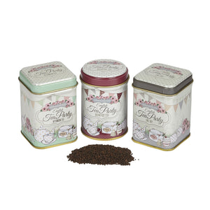 English Tea Party Triple Tea Selection Mini Tin Gift Pack Black Tea New English Teas