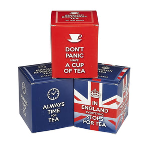 English Tea Slogans Triple Tea Carton Gift Pack Black Tea New English Teas
