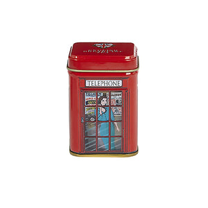 English Telephone Box Loose Leaf Breakfast Tea Mini Tin 25g Black Tea New English Teas