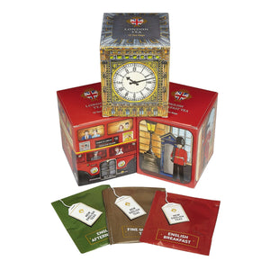 Famous London Sights Tea Selection Gift Box Black Tea New English Teas