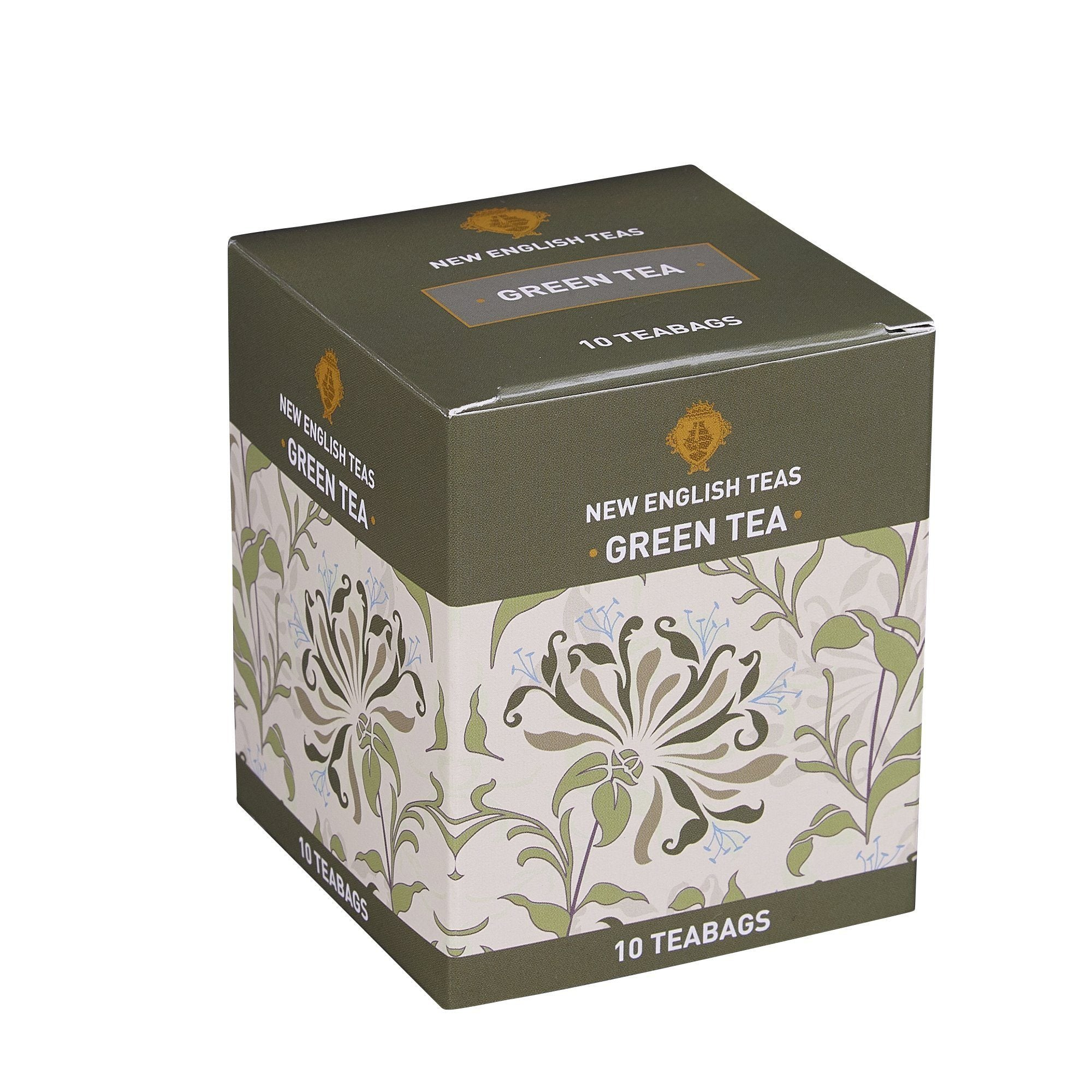 Green Tea 10 Individually Wrapped Teabags Green Tea New English Teas