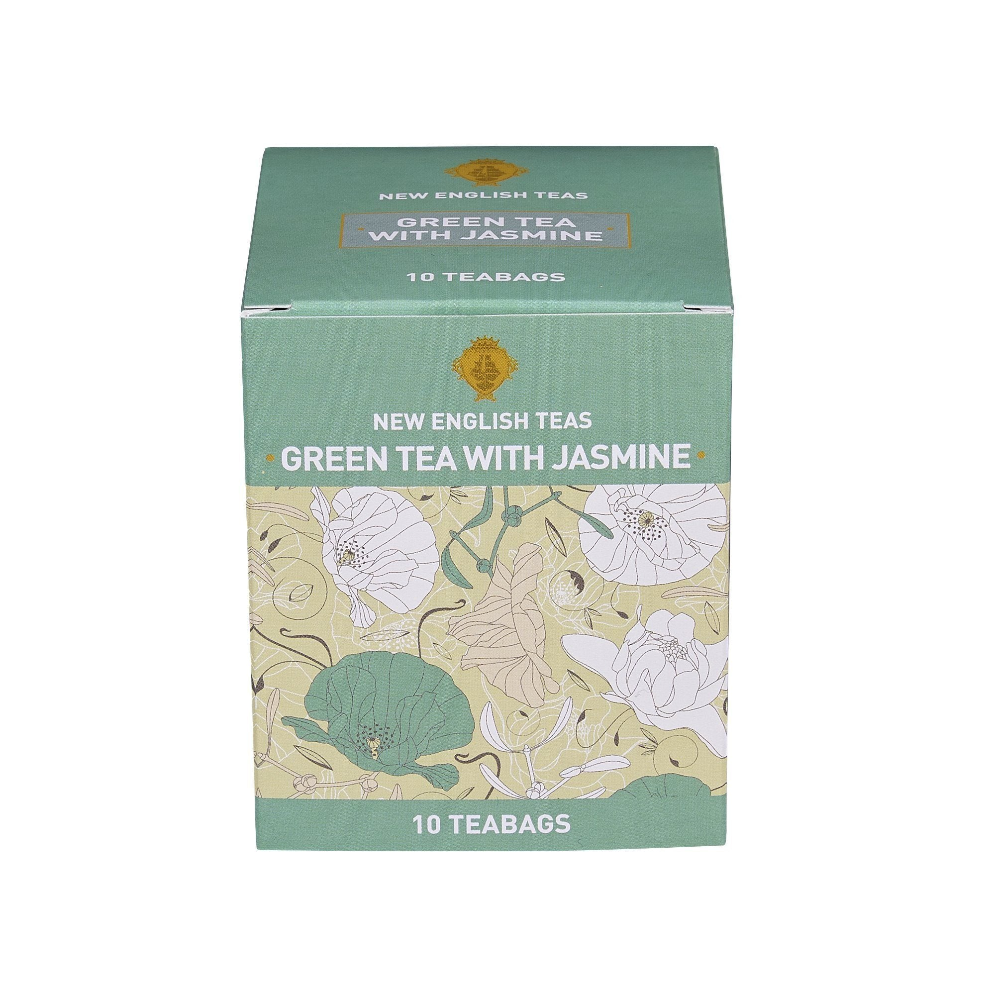 Green Tea With Jasmine 10 Individually Wrapped Teabags Green Tea New English Teas