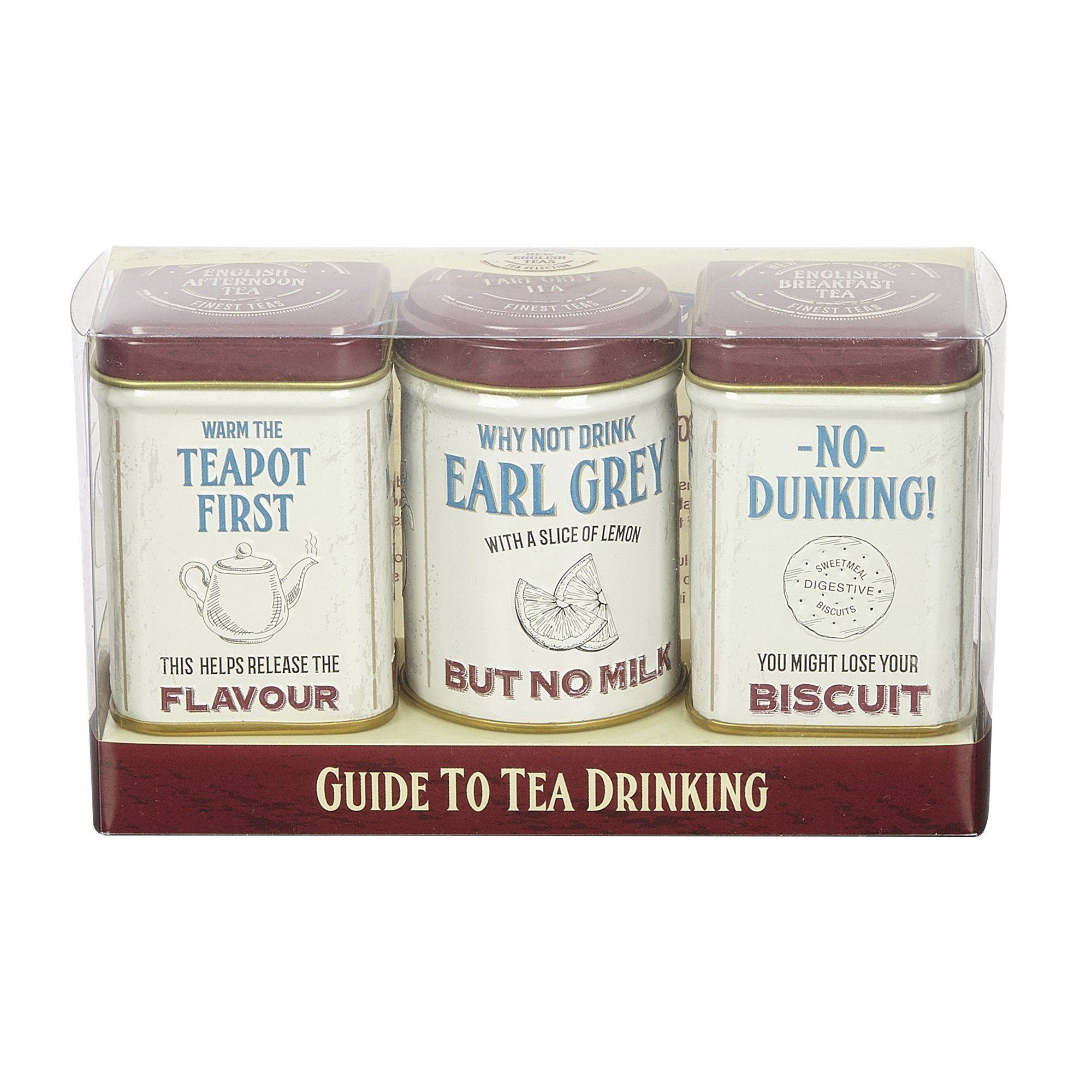 Guide to Tea Drinking Mini Tins with loose-leaf black tea Black Tea New English Teas