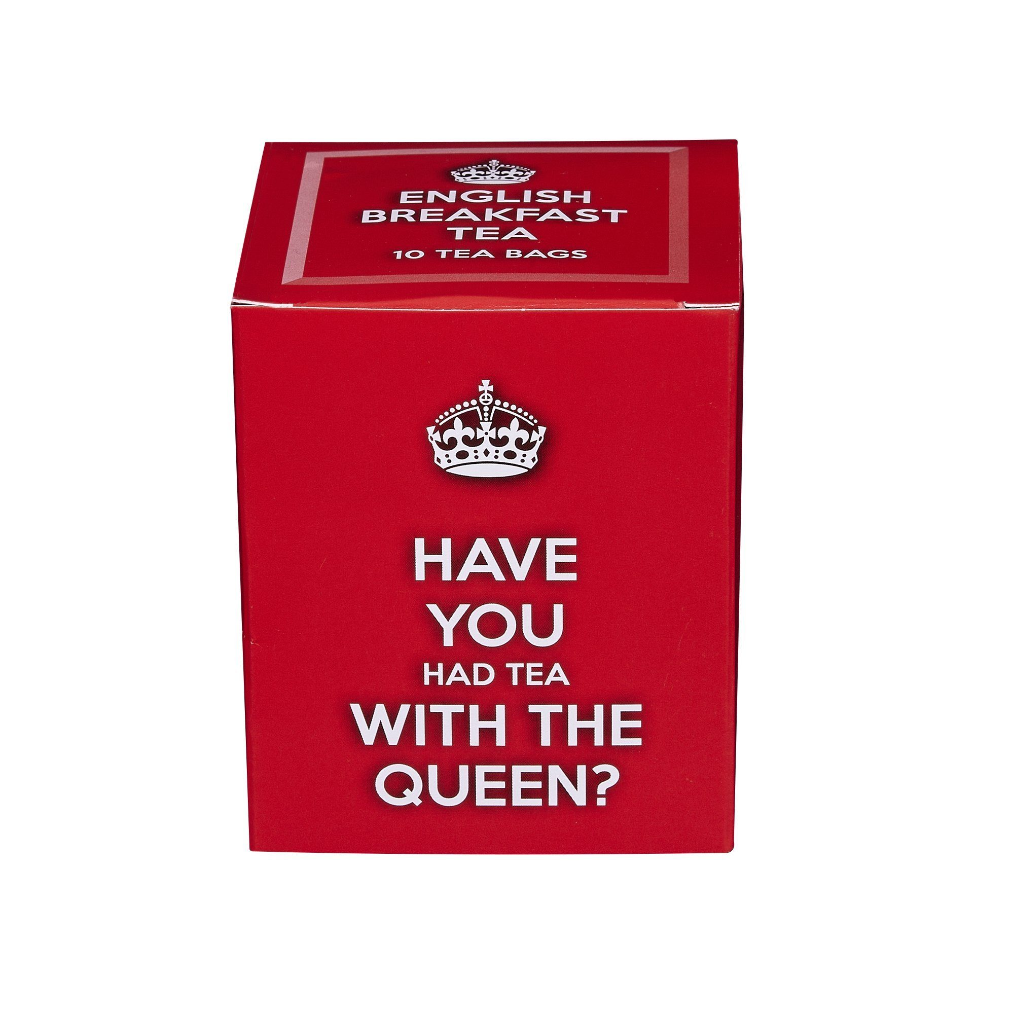 Have You Had Tea With The Queen 10 Teabag Carton Black Tea New English Teas