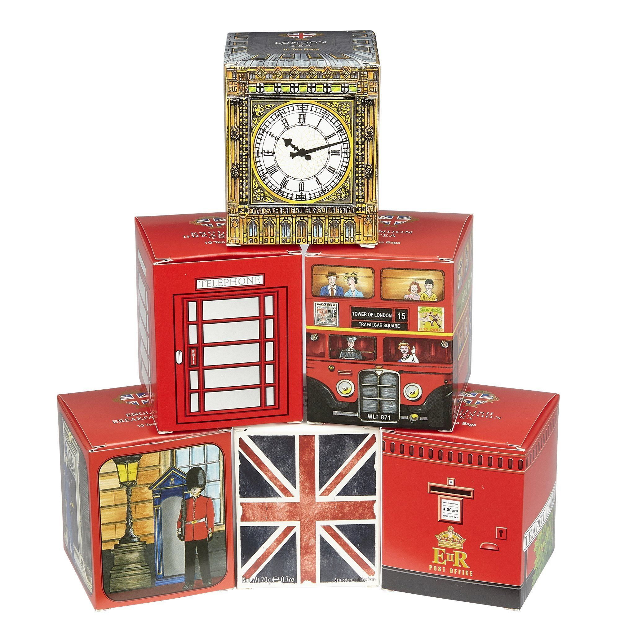 Heritage Range English Tea Six Tea Gift Pack Black Tea New English Teas