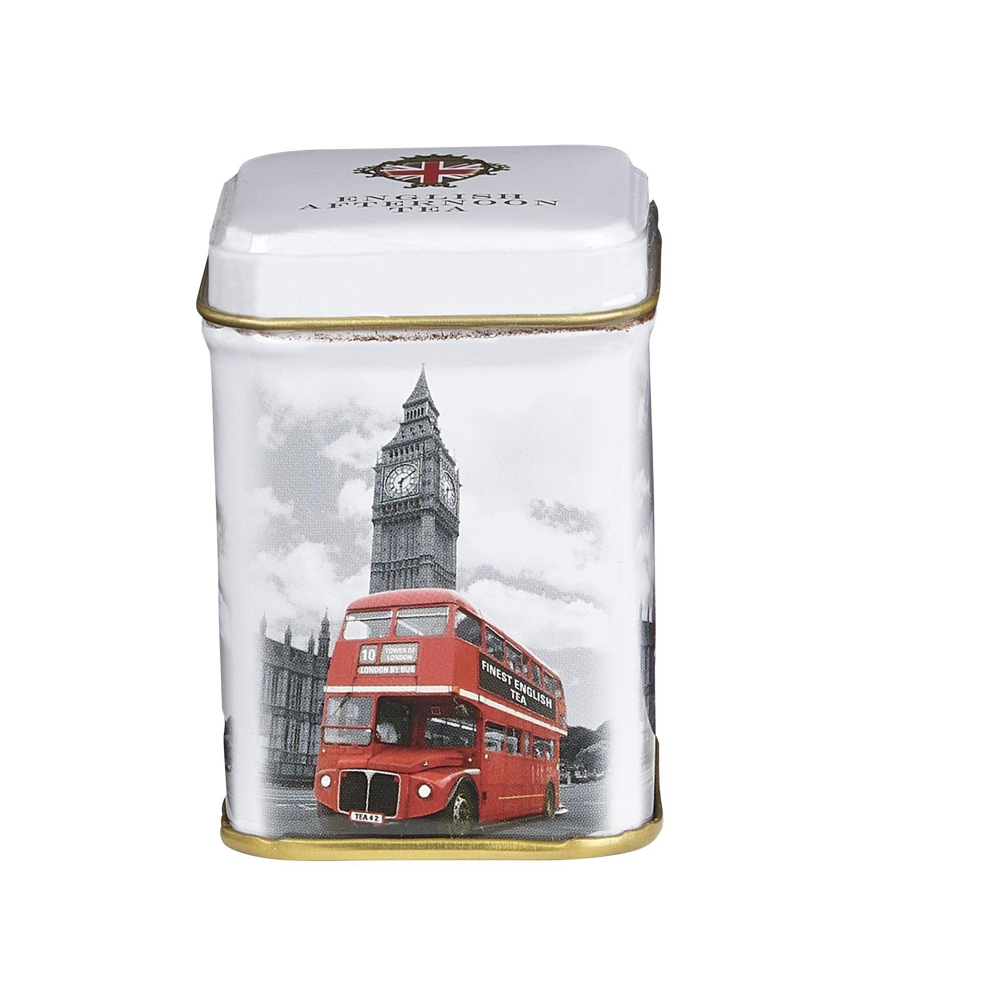 London Bus And Big Ben English Breakfast Tea Mini Tin 25g Black Tea New English Teas