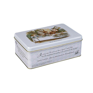 New English Teas Alice In Wonderland English Tea Selection Tin 100 Teabags Black Tea New English Teas