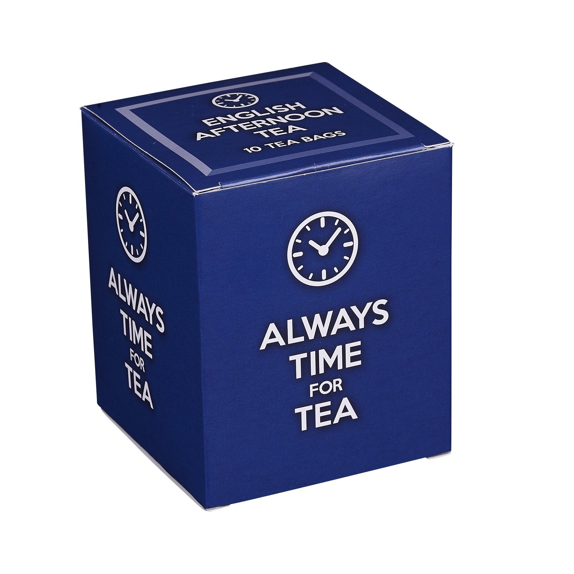 New English Teas Always Time For Tea Carton 10 Teabags Black Tea New English Teas