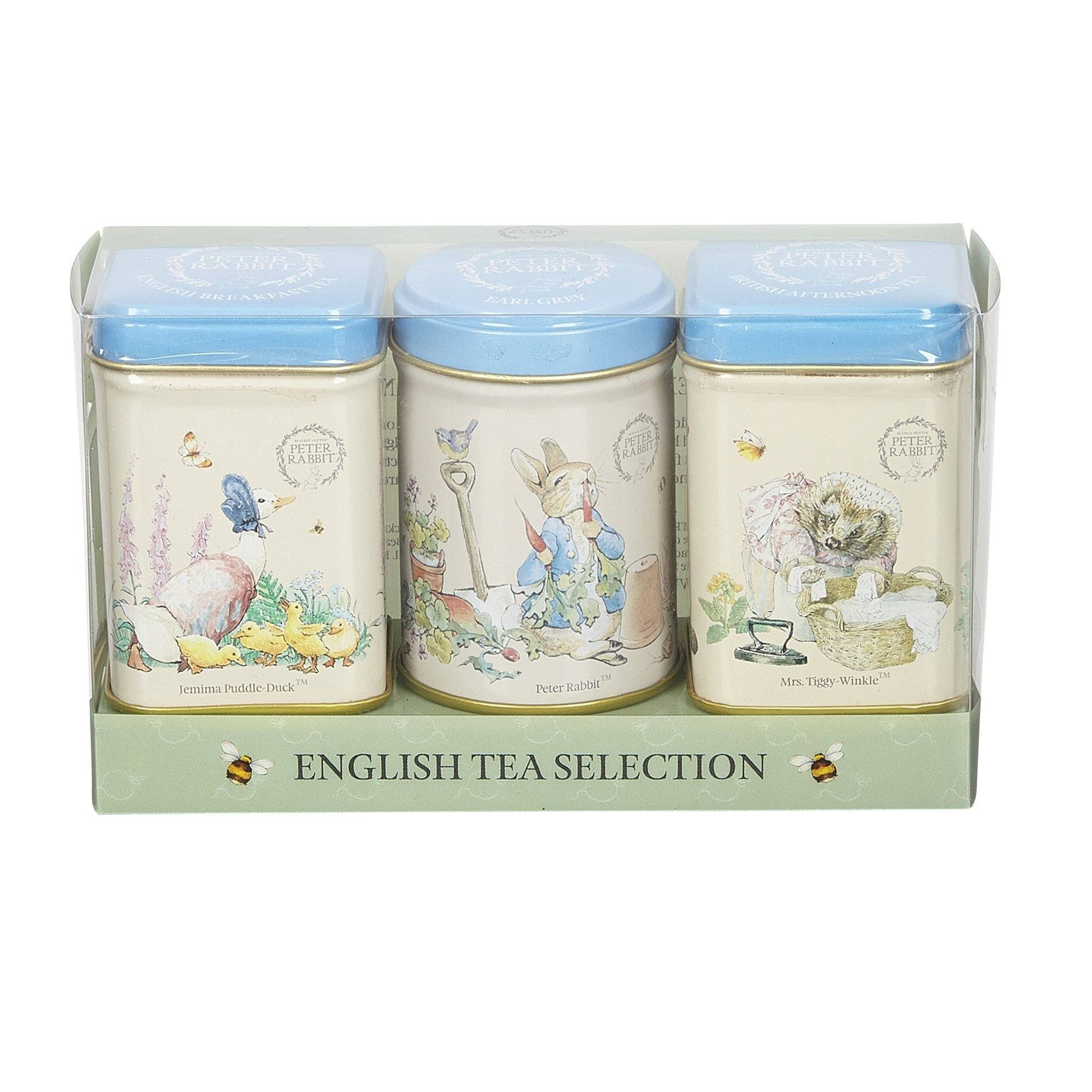 Beatrix Potter Mini Tin Gift Pack, with loose-leaf black tea Black Tea New English Teas