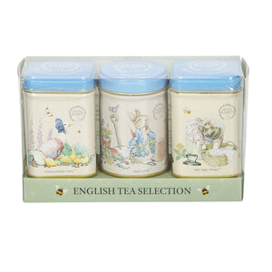 New English Teas Beatrix Potter Mini Tea Tin Gift Pack Black Tea New English Teas