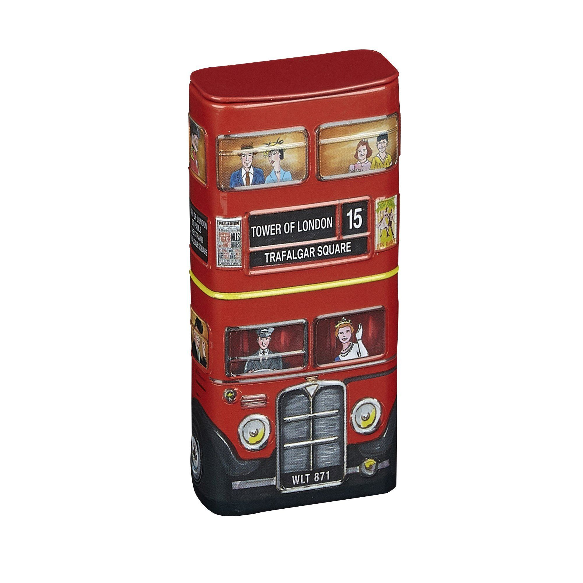 Red London Bus Sugar Free Mints With Flip Lid 25g Mints New English Teas