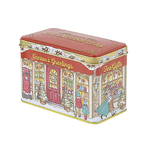 Season's Greetings Christmas Tea Tin 40 Teabags Black Tea New English Teas