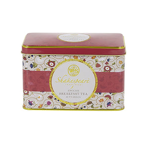 Shakespeare Birthplace Trust Tea Tin 40 Teabags Black Tea New English Teas