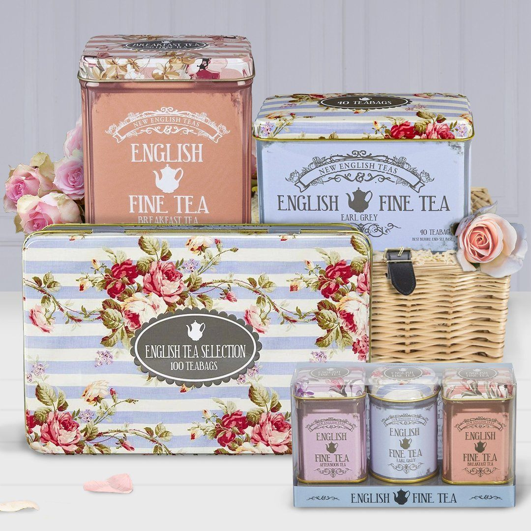 The Cottage Garden Tea Gift Collection Black Tea New English Teas