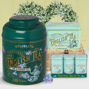 The Royal Garden Tea Gift Collection Black Tea New English Teas