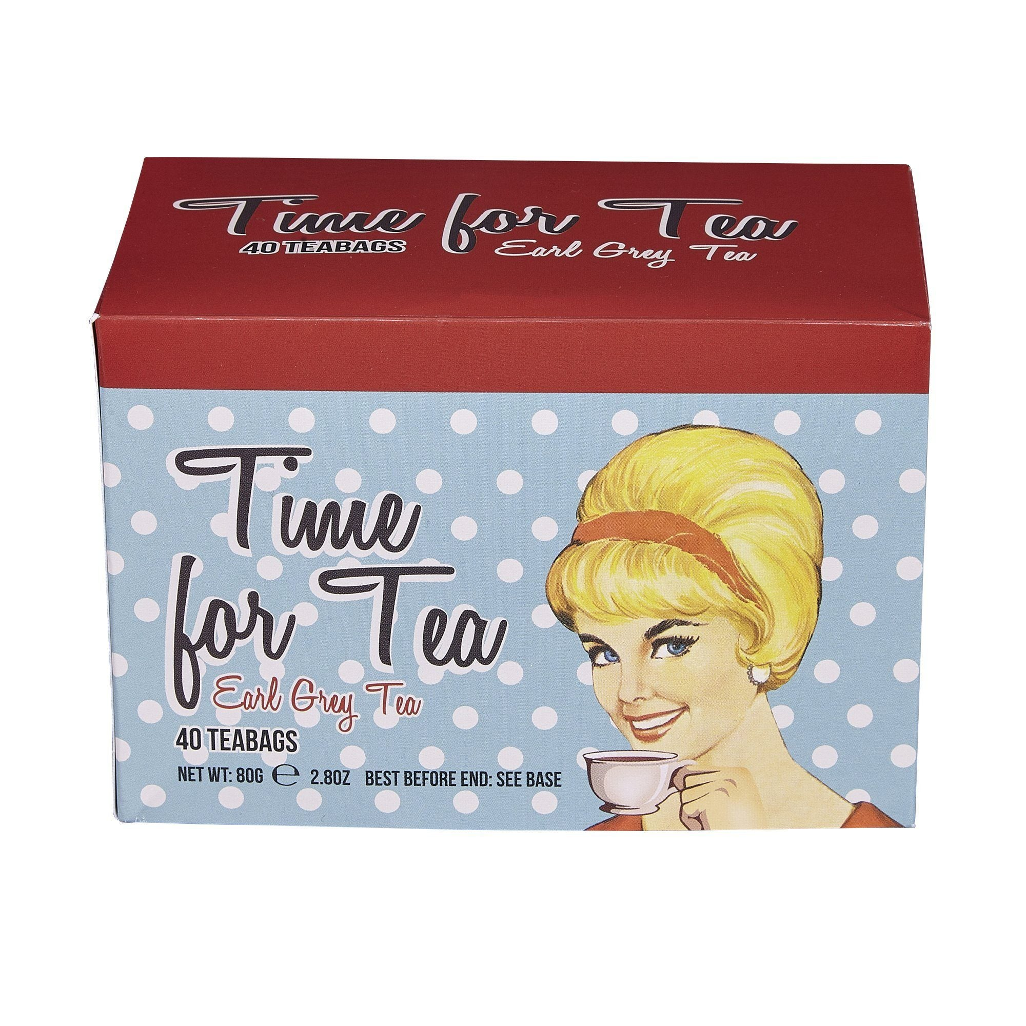 Time For Tea Earl Grey Tea 40 Teabag Carton Black Tea New English Teas