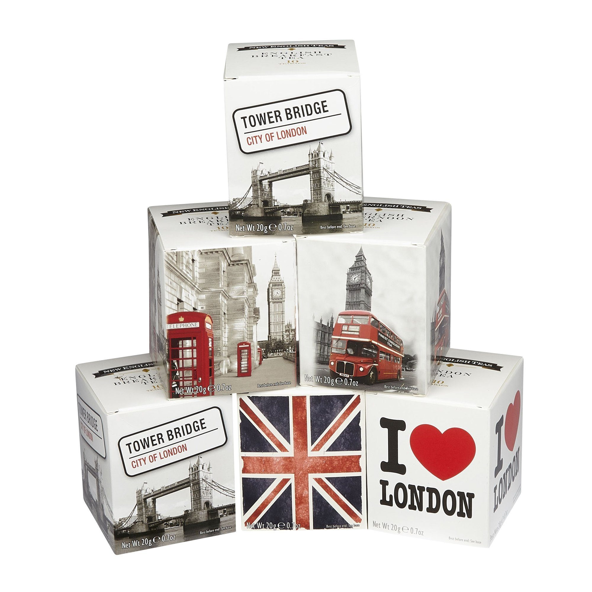 Traditional English Tea Six Tea Gift Pack Black Tea New English Teas