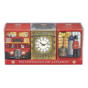 Traditions Of London Triple Tea Gift Pack 1 Black Tea New English Teas