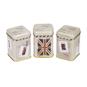 Travel Memories Triple English Tea Mini Tin Gift Pack Black Tea New English Teas