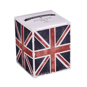 Union Jack English Breakfast Tea 10 Teabag Carton Black Tea New English Teas