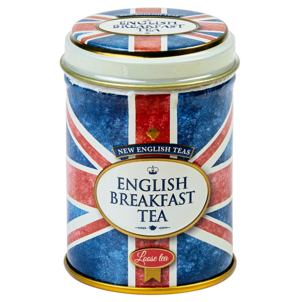 Union Jack English Breakfast Tea Mini Tin 25g Black Tea New English Teas