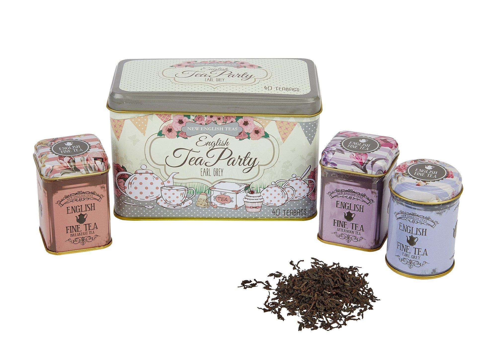 Vintage English Afternoon Tea Party Selection Black Tea New English Teas
